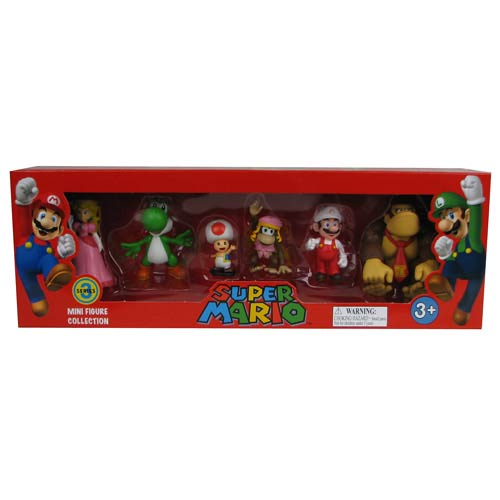 Super Mario Bros. 2-Inch Series 3 Figure 6-Pack