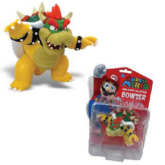 Super Mario Bros. Bowser 3-Inch Mini-Figure