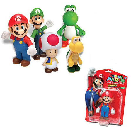 Super Mario Bros. 5-Inch Action Figure Case