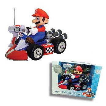 Super Mario Mario Kart Wii Mario Remote Control Kart Vehicle