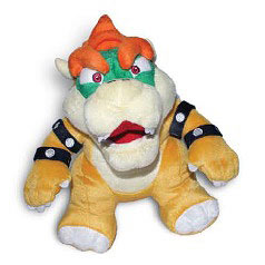 Super Mario Bros. Bowser Small Plush