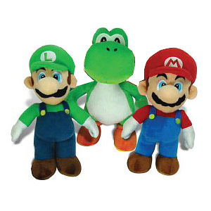 Super Mario Bros. Large Plush Set