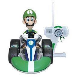 Super Mario Mario Kart Wii Luigi Remote Control Kart Vehicle