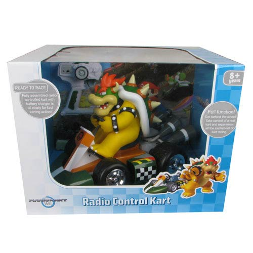 Super Mario Mario Kart Wii Bowser Remote Control Vehicle