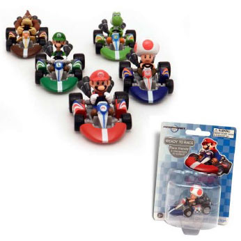 Super Mario Mario Kart Wii Die-Cast Vehicle Case