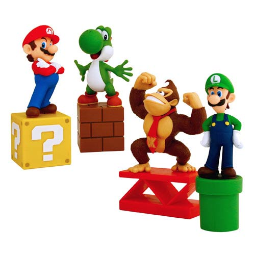 Super Mario Bros. Paperweight Set