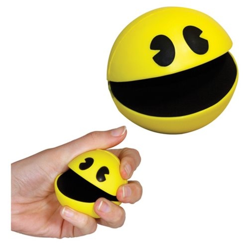 Pac-Man Shaped Stress Ball