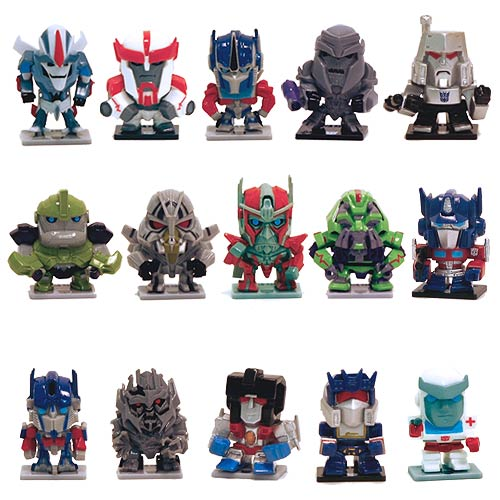Transformers 30th Anniversary Mini-Figure Wave 1 Case