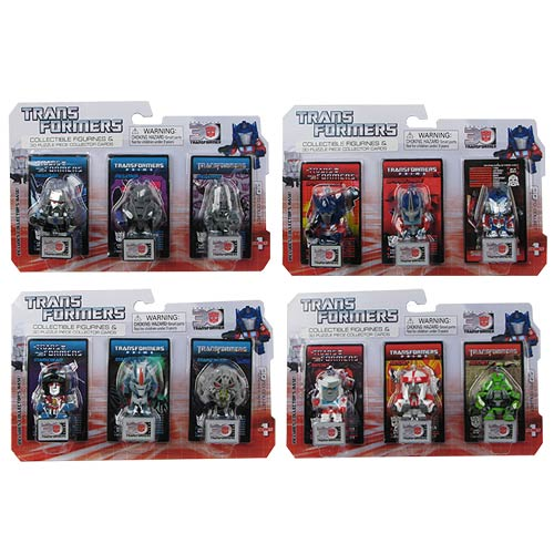 Transformers 30th Anniversary Figure Wave 1 3-Pack Half Case