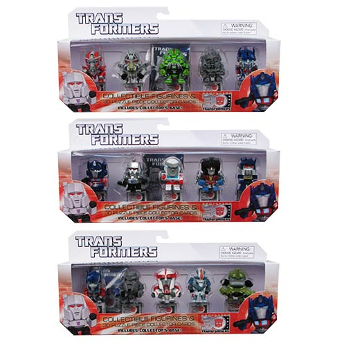 Transformers 30th Anniversary Mini-Figure Wave 1 5-Pack Set
