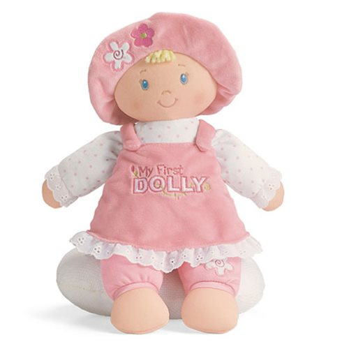 My First Dolly Blonde 13-Inch Plush Doll