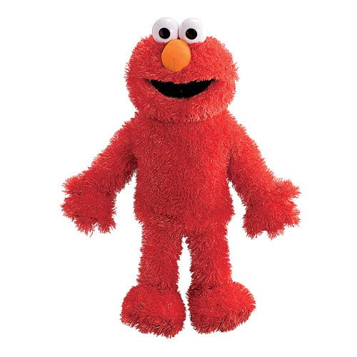 Sesame Street Elmo Full Body Puppet 15-Inch Plush