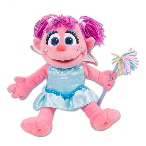 Sesame Street Abby Full Body Puppet 12 1/2-Inch Plush