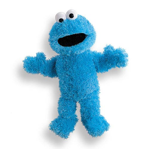 Sesame Street Cookie Full Body Puppet 14 1/2-Inch Plush