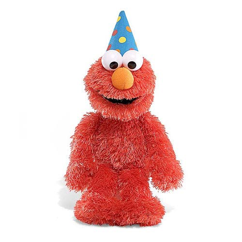 Sesame Street Happy Birthday Elmo Talking 11-Inch Plush