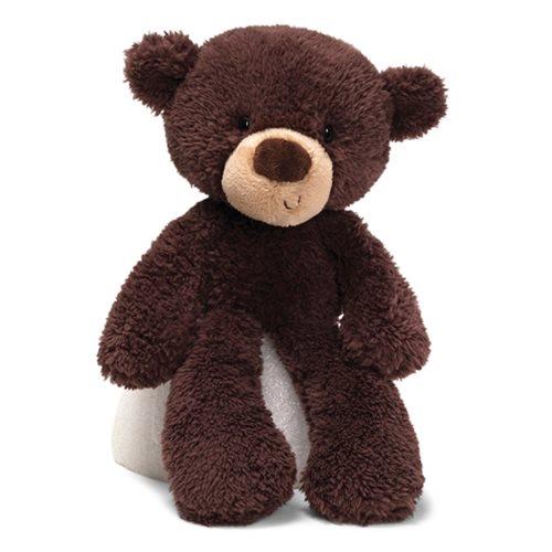 Fuzzy Bear Chocolate 13 1/2-Inch Plush