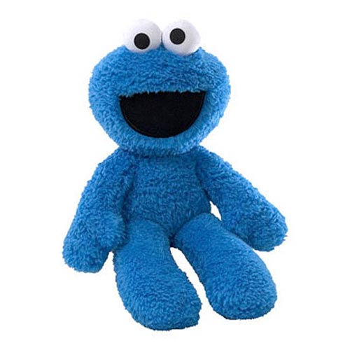 Sesame Street Cookie Monster Take-Along Buddy 13-Inch Plush