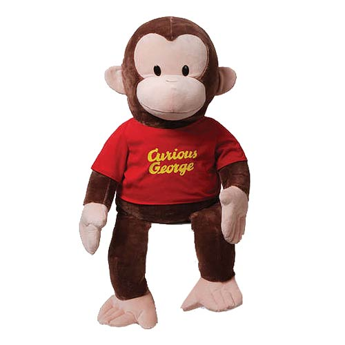 Curious George in Red Shirt 36-Inch Plush
