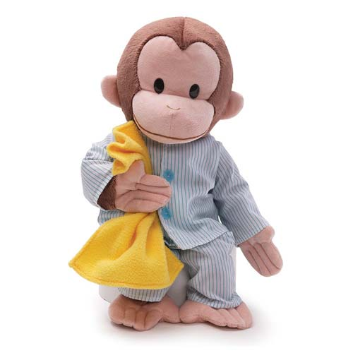 Curious George Pajamas 16-Inch Plush