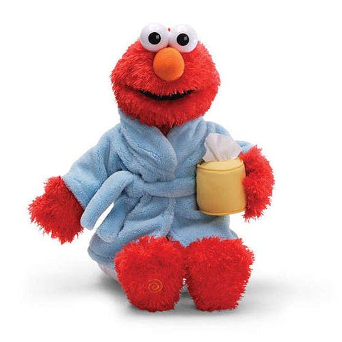 Sesame Street Feel Better Elmo Talking 14-Inch Plush