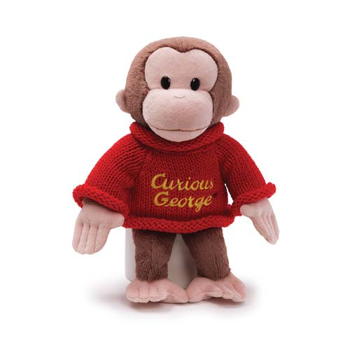 Curious George Sweater 12-Inch Plush