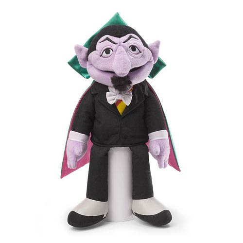 Sesame Street The Count Full Body Puppet 13 1/2-Inch Plush