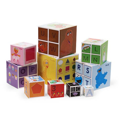 Sesame Street Stackable Nesting Blocks