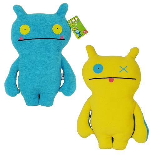 Uglydoll Double Trouble Wage Blue and Yellow Plush