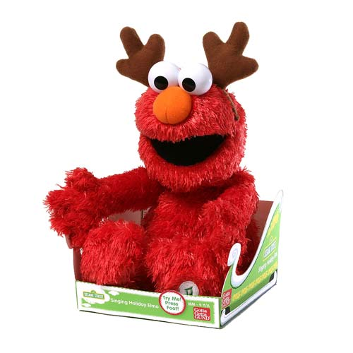Sesame Street Sing-A-Long Holiday Elmo