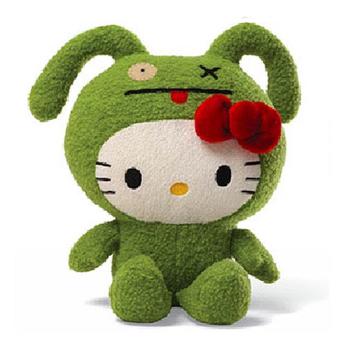 Hello Kitty Uglydoll Ox 7-Inch Plush
