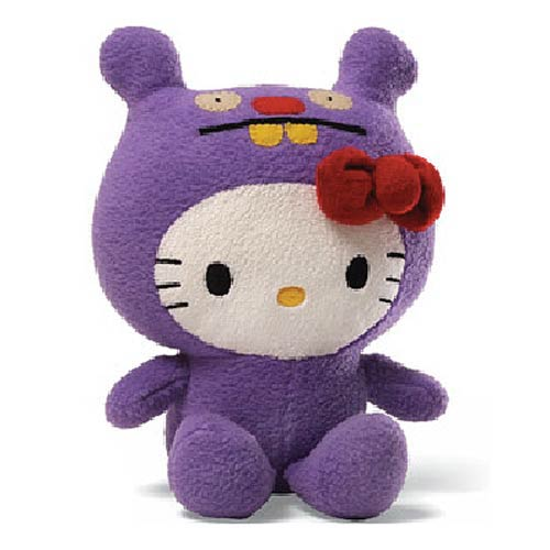 Hello Kitty Uglydoll Trunko 7-Inch Plush