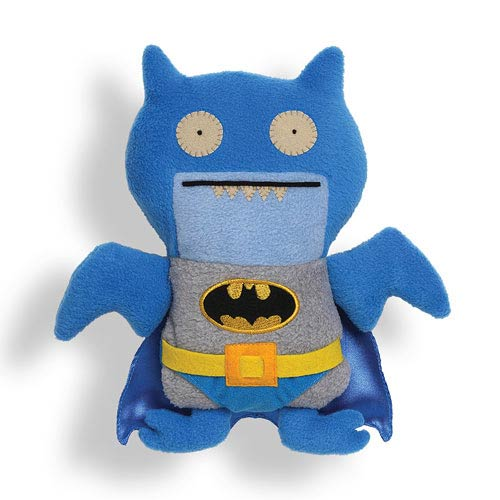 DC Comics Blue Batman Uglydoll Ice Bat Plush