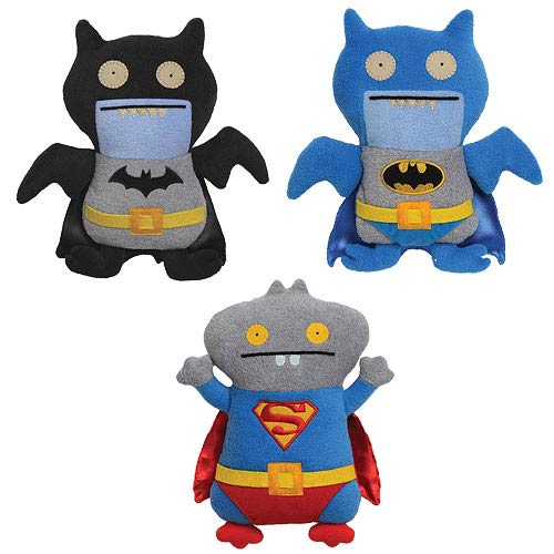 Uglydoll DC Comics Plush Case