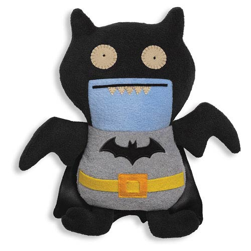 DC Comics Black Batman Uglydoll Ice Bat Plush
