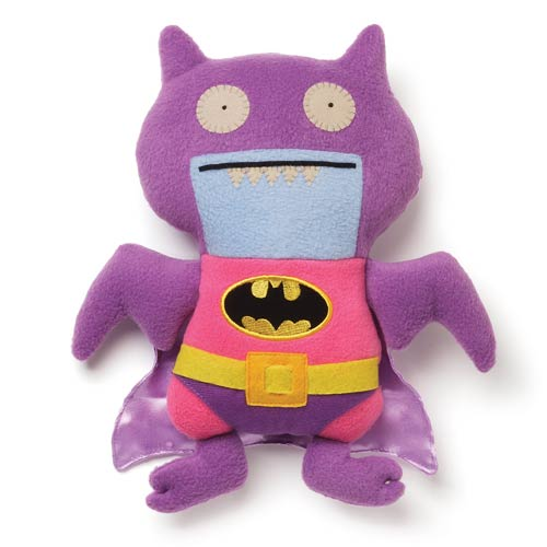 DC Comics Batman Uglydoll Pink and Purple Ice Bat Plush