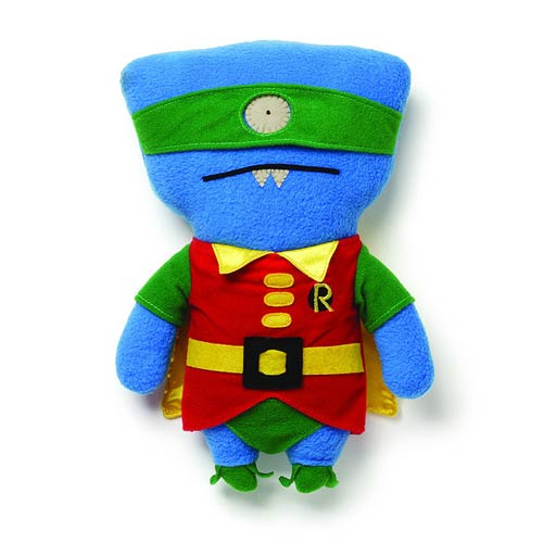 DC Comics Batman Uglydoll Robin Wedgehead Plush