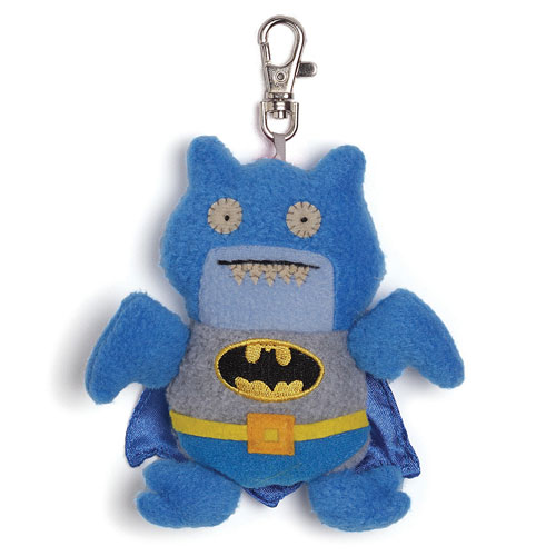 DC Comics Blue Batman Uglydoll Ice Bat Clip-On Plush