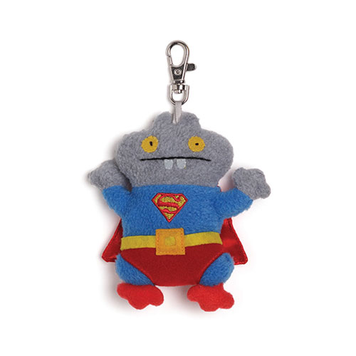 DC Comics Superman Uglydoll Babo Clip-On Backpack Plush