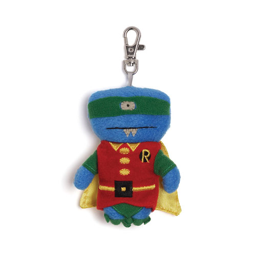 DC Comics Robin Uglydoll Wedgehead Clip-On Plush