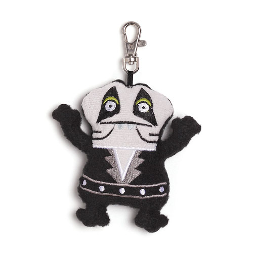 KISS Catman Uglydoll Babo Clip-On Backpack Plush
