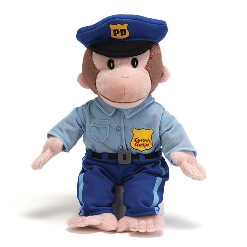 Curious George Policeman Plush