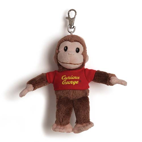 Curious George Backpack Clip