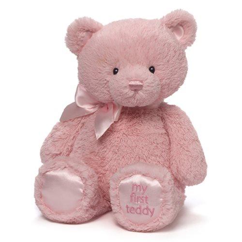 My 1st Teddy Bear Pink 15-Inch Plush