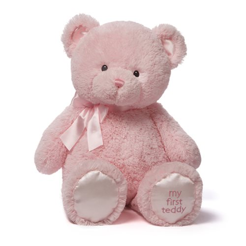 My 1st Teddy Bear Pink 24-Inch Plush