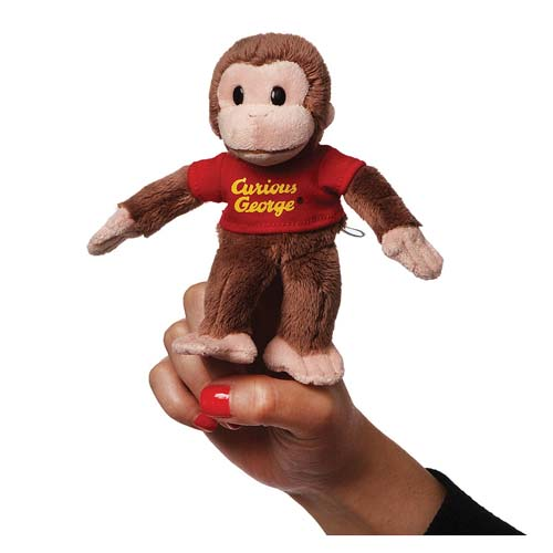 Curious George Finger Puppet Plush
