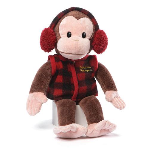 Curious George Winter Wear Plush
