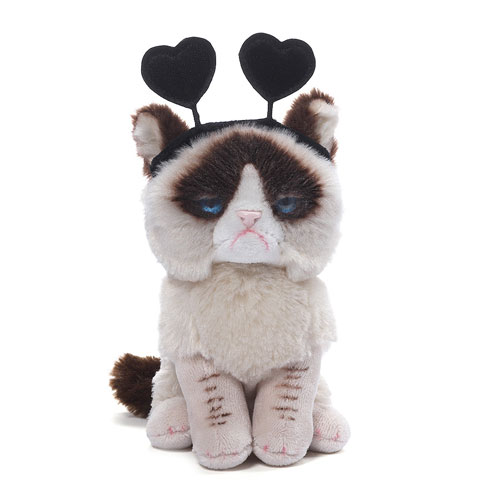 Turn Your Frown Upside Down with Grumpy Cat Plush