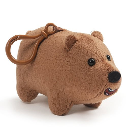 We Bare Bears Grizz Clip-On Backpack Plush