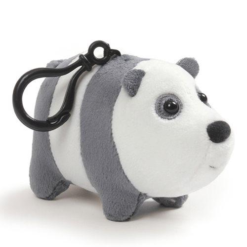 We Bare Bears Panda Clip-On Backpack Plush