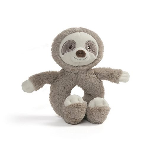 Baby Toothpick Sloth Ring Rattle